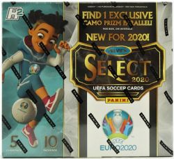 2020 SOCCER -  SELECT UEFA EURO - HOBBY BOX (P5/B10) -  PANINI