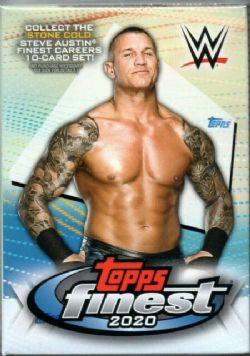 2020 WWE -  TOPPS FINEST WRESTLING BLASTER