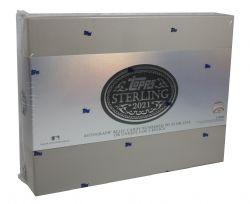 2021 BASEBALL -  TOPPS STERLING BASEBALL - HOBBY BOX (P1/B2/C8)