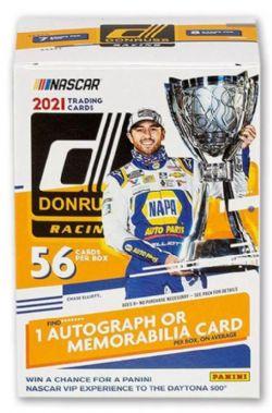 2021 NASCAR -  PANINI DONRUSS - BLASTER BOX (P8/B7)