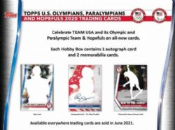 2021 OLYMPIC -  TOPPS U.S. OLYMPIC & PARALUMPIC & HOPEFULS - HOBBY