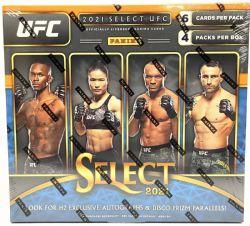 2021 UFC -  PANINI SELECT - H2 HOBBY HYBRID