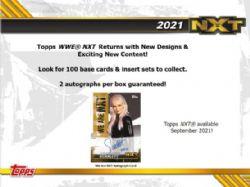2021 WWE -  TOPPS NXT (P7/B18/C12)