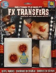 3D FX TRANSFERS -  CORNES DE DÉMONS