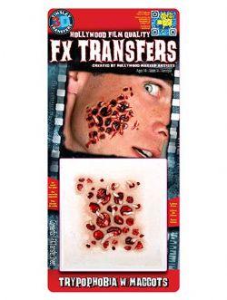 3D FX TRANSFERS -  TRYPOPHOBIE AVEC DES VERS