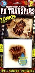 3D FX TRANSFERS -  ZOMBIE - MORSURES