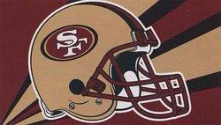 49ERS DE SAN FRANCISCO -  DRAPEAU VERTICAL 36