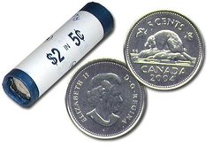 5 CENTS -  ROULEAU ORIGINAL DE 5 CENTS 2004