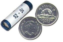 5 CENTS -  ROULEAU ORIGINAL DE 5 CENTS 2004