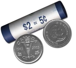 5 CENTS -  ROULEAU ORIGINAL DE 5 CENTS 2005