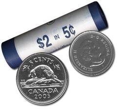5 CENTS -  ROULEAU ORIGINAL DE 5 CENTS 2005