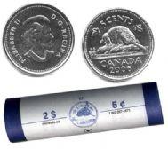 5 CENTS -  ROULEAU ORIGINAL DE 5 CENTS 2006