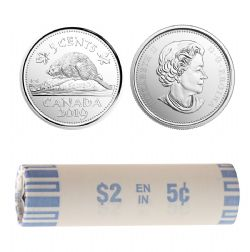 5 CENTS -  ROULEAU ORIGINAL DE 5 CENTS 2019