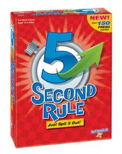 5 SECOND RULE -  JEU DE BASE (MULTILINGUE)