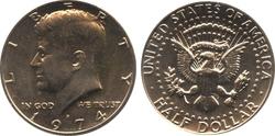 50 CENTS -  50 CENTS 1974