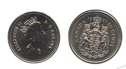 50 CENTS -  50 CENTS 1994 - BRILLANT INCIRCULE (BU) -  PIÈCES DU CANADA 1994