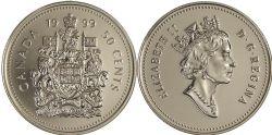 50 CENTS -  50 CENTS 1999 - BRILLANT INCIRCULÉ (BU) -  PIÈCES DU CANADA 1999