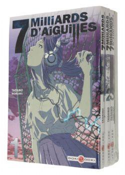 7 MILLIARDS D'AIGUILLES -  MANGAS USAGÉS TOME 01 À 04