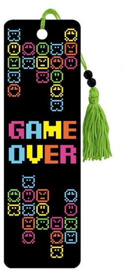 8 BIT GAMER -  GAME OVER - 8 BIT GAMER SIGNET
