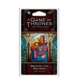 A GAME OF THRONES : THE CARD GAME -  BENEATH THE RED KEEP (ANGLAIS)