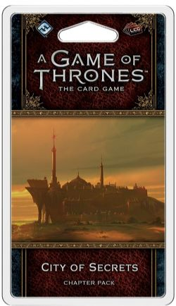 A GAME OF THRONES : THE CARD GAME -  CITY OF SECRETS (ANGLAIS)