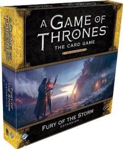 A GAME OF THRONES : THE CARD GAME -  FURY OF THE STORM (ANGLAIS)