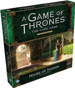 A GAME OF THRONES : THE CARD GAME -  HOUSE OF THORNS (ANGLAIS)