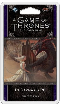 A GAME OF THRONES : THE CARD GAME -  IN DAZNAK'S PIT - CHAPTER PACK (ANGLAIS)
