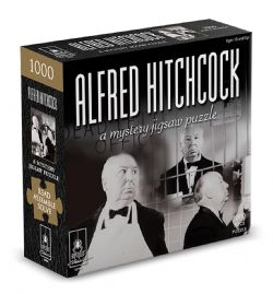 A MYSTERY JIGSAW PUZZLE -  ALFRED HITCHCOCK  (1000 PIECES)