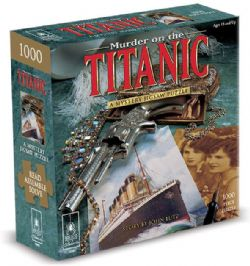 A MYSTERY JIGSAW PUZZLE -  MURDER ON THE TITANIC  (1000 PIECES)