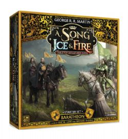 A SONG OF ICE AND FIRE -  BARATHEON - STARTER SET (ANGLAIS)