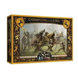 A SONG OF ICE AND FIRE -  CHAMPIONS OF THE STAG (ANGLAIS)