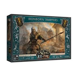 A SONG OF ICE AND FIRE -  GREYJOY IRONBORN TRAPPERS (ANGLAIS)