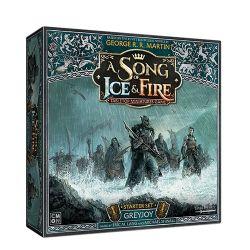 A SONG OF ICE AND FIRE -  GREYJOY STARTER SET (ANGLAIS)
