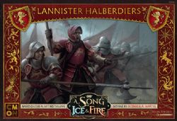 A SONG OF ICE AND FIRE -  LANNISTER HALBERDIERS (ANGLAIS)