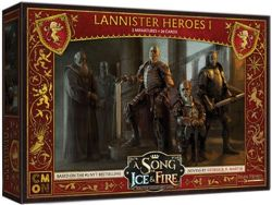 A SONG OF ICE AND FIRE -  LANNISTER HEROES 1 (ANGLAIS)