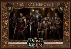 A SONG OF ICE AND FIRE -  NEUTRAL HEROES 2 (ANGLAIS)
