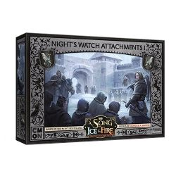 A SONG OF ICE AND FIRE -  NIGHT'S WATCH ATTACHMENTS 1 (ANGLAIS)