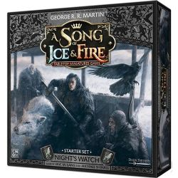 A SONG OF ICE AND FIRE -  NIGHT'S WATCH - STARTER SET (ANGLAIS)