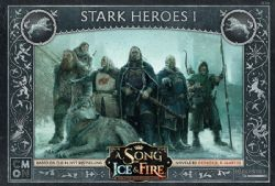 A SONG OF ICE AND FIRE -  STARK HEROES 1 (ANGLAIS)