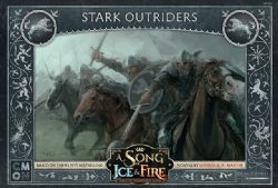 A SONG OF ICE AND FIRE -  STARK OUTRIDERS (ANGLAIS)