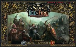 A SONG OF ICE AND FIRE -  STARK VS LANNISTER - STARTER SET (ANGLAIS)
