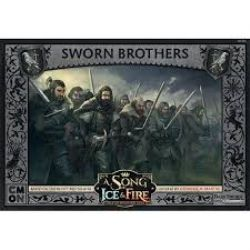 A SONG OF ICE AND FIRE -  SWORN BROTHERS (ANGLAIS)
