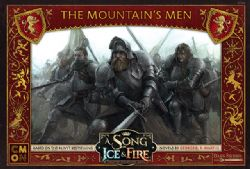 A SONG OF ICE AND FIRE -  THE MOUNTAIN'S MEN (ANGLAIS)
