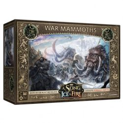 A SONG OF ICE AND FIRE -  WAR MAMMOTHS (ANGLAIS)