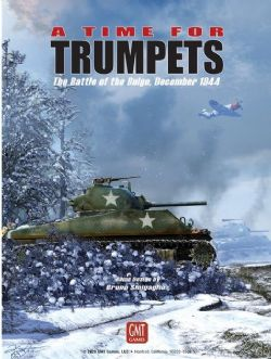 A TIME FOR TRUMPETS -  THE BATTLE OF THE BULGE, DECEMBER 1994 (ANGLAIS)