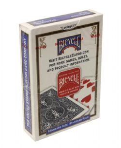 ACCESSOIRES DE MAGIE -  CARTE DOUBLE DOS BLEU