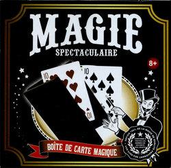 ACCESSOIRES DE MAGIE -  MAGIE SPECTACULAIRE - BOITE DE CARTE MAGIQUE