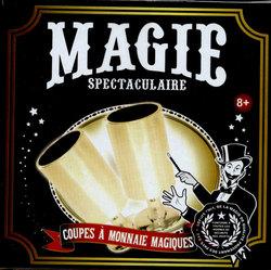 ACCESSOIRES DE MAGIE -  MAGIE SPECTACULAIRE - COUPES A MONNAIE MAGIQUE