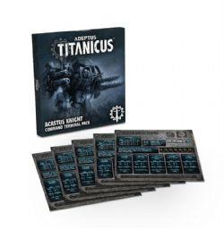 ADEPTUS TITANICUS -  ACASTUS KNIGHT COMMAND TERMINAL PACK (ANGLAIS)